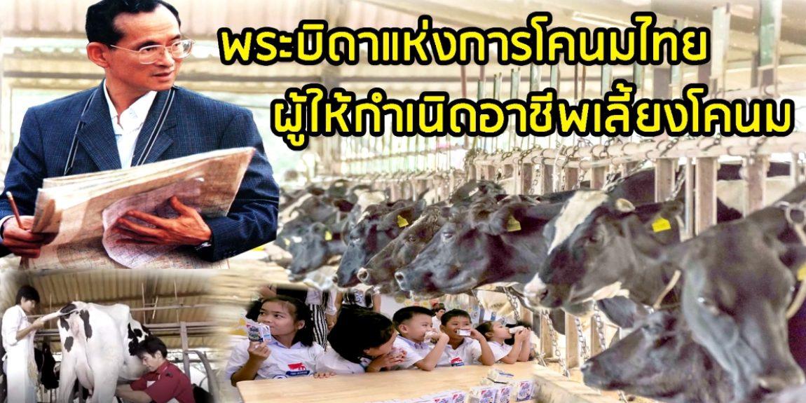 พระมหากรุณาธิคุณ รัชกาลที่ ๙ ทรงจัดตั้งฟาร์มโคนม ไทย - เดนมาร์ก ซึ่งเป็นฟาร์โคนมแห่งแรกในประเทศไทย ในพื้นที่ จ.สระบุรี ตอนที่ ๑